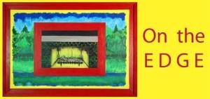 Invitation design for On the EDGE, 2013 8.5w x 4h Inches